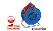 Удлинитель на катушке 40м (3 роз., 5.5кВт, резин. кабель) Brennenstuhl Garant (5,5кВт - макс. мощ.; 3,3кВт - номин. мощ.; 3х2,5мм2; степень защиты: IP44)