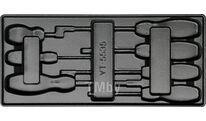 Вкладыш пластмассовый под инструмент YT-5535 для инструментального ящика Yato YT-55351