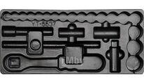 Вкладыш пластмассовый под инструмент YT-5537 для инструментального ящика Yato YT-55371