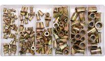 Заклепки резьбовые стальные M3-М10 (набор 150шт.) Yato YT-36481