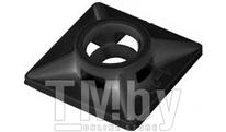 Площадка для хомута-стяжки 19х19 мм черная (100 шт в пласт. конт.) STARFIX (SMP2-81103-100)