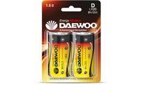 Батарейка D LR20 1,5V alkaline BL-2шт DAEWOO ENERGY