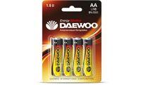 Батарейка AA LR6 1,5V alkaline BL-4шт DAEWOO ENERGY