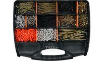 Шурупы с набором пластмассовых дюбелей (набор 770шт) Vorel 24111