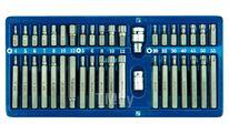 Головки биты специальные TORX, HEX, SPLINE (набор 40пр.) Vorel 66400