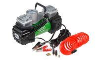 Компрессор автомобильный ECO AE-028-1 (12В, 280Вт, 10bar, 70л/мин, 2 цилиндра, фонарь, сумка)