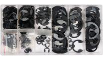 Стопорные кольца Е-образные (набор 300шт) Yato YT-06884