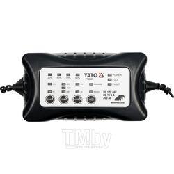 Электронное зарядное устройство (6/12V; 1/4A; мах 200Ah) Yato YT-8300