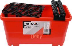 Ведро для плиточника с роликами 22л Yato YT-54750