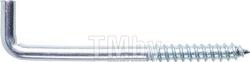 Крючок 5.0х80 мм Г-образный, цинк (50 шт в пласт. конт.) STARFIX