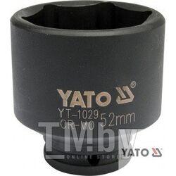 """Головка ударная 1/2"""" 6гр. 52мм L72мм CrMo Yato YT-1029"""