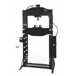 Пресс гидравлический напольный 50т, ручной/ножной привод (рабочая высота: 88-1068мм, рабочая ширина: 730мм, рабочий стол: 240х730мм, ход штока: 220мм) Rock FORCE RF50021