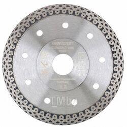 Диск алмазный ф230х22,2мм, тонкий, сплошной (Jaguar), мокрое резание GROSS 73059