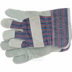 Перчатки спилковые комбинированные Р 67736