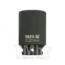 """Головка ударная 3/4"""" 6гр. 38мм L90мм CrMo Yato YT-1138"""