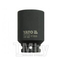 """Головка ударная 3/4"""" 6гр. 41мм L90мм CrMo Yato YT-1141"""