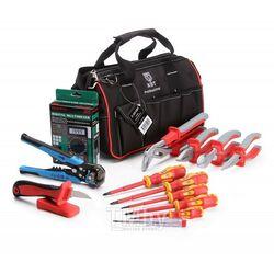 Набор инструментов электрика НИЭ-02 (КВТ) 66353