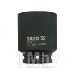 """Головка ударная 3/4"""" 6гр. 50мм L90мм CrMo Yato YT-1150"""