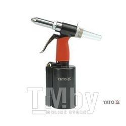 """Пневмозаклепочник 2,4-6,4мм 1/4"""" Yato YT-3618"""