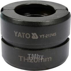 Обжимочная головка тип TH 20мм для YT-21735 YT-21745 Yato YT-21745