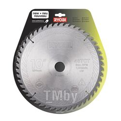 Пильный диск Ryobi SB 254 T 48 A 1 для торцовочных пил EMS 254 L, EMS 2026 SCLHG, EMS 1426 LHG, ETMS 1825 HG, ET 1525 SCHG, ETS 1526 ALHG