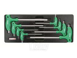 Набор-сет ключей L-Type Torx Т10-Т50 8шт 434х176мм TOPTUL (GAAT0804)