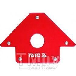 Струбцина магнитная для сварки 102х155х17мм с отверстием d18мм (22,5кг.) Yato YT-0864