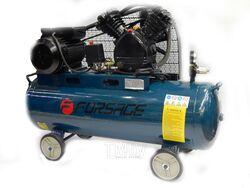 Компрессор 200л 2-х поршневой с ременным приводом (5,5кВт, ресивер 200л, 600л/м, 380В) Forsage TB290-200