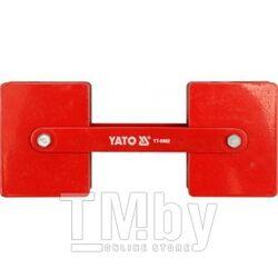 Струбцина магнитная для сварки 85х65х22мм (2х22,5кг., 360гр.) Yato YT-0862