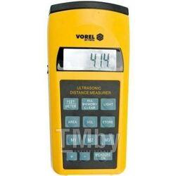 Ультрозвуковой измеритель расстояния с лазером Vorel 81782