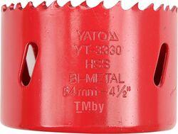 """Пила кольцевая """"Bi-metal"""" 60мм L40мм (5/8"""", HSS M3) Yato YT-3329"""