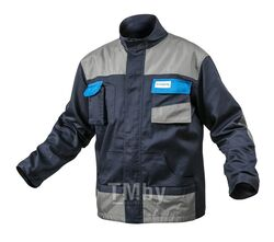 Куртка рабочая темно-синяя, размер M HOEGERT HT5K281-M