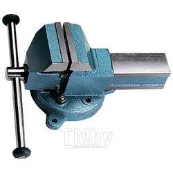 Тиски слесарные 140 мм, поворотные (Глазов) 18667