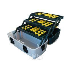 """Ящик для инструмента и оснастки PROFBOX Е-55 (22 """") с 3-мя кантилеверами"""