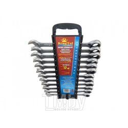 Набор ключей комбинированных трещоточных,12пр., в пластиковом держателе KINGTUL profi KTP-3112