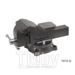 Тиски слесарные 19кг 150мм пов. 360гр. Yato YT-65048