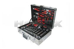 Набор инструмента 127 предметов, алюминиевый кейс Horex HZ 24.1.127