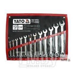 Набор рожково-накидных ключей 8-24мм (12шт) Yato YT-0362