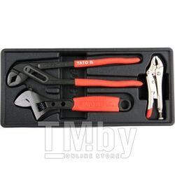Набор ключей в футляре (3пр.) Yato YT-55473
