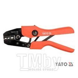 Пресс-клещи 220мм (22-10 AWG 0,5-0,6мм) Yato YT-2302