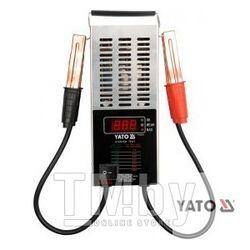 Тестер аккумуляторов цифровой 12V, CCA150-1400A LED Yato YT-8311
