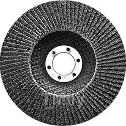 Круг лепестковый торцевой, конический, Р 80, 180 х 22,2 мм СИБРТЕХ 74097