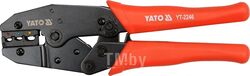 Пресс-клещи 220мм 2-х функц. (22-10 AWG 0,5-6мм) Yato YT-2246