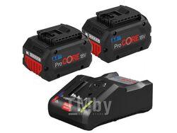 Комплект аккумулятор 18.0 В ProCORE18 V 2 шт. + зарядное устройство GAL 18V-160 C (Набор ProCORE18 V 8,0Ah 2 шт. + GAL 18V-160 C) (BOSCH)