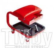 Стул автослесаря с инструментальной полкой на колесах (220х375мм) Forsage F-TR6301