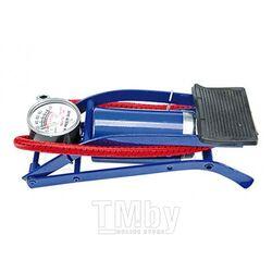 Насос с манометром ножной автомобильный Vorel 82000