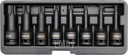 """Набор ударных насадок 1/2"""" TORX Т30-T80 (8пр) CrMo, HRC54 Yato YT-1065"""