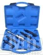 Набор инструментов для снятия внутренних подшипников, 5пр. (10-14, 15-19, 18-25, 25-32мм), в кейсе Rock FORCE RF-905T6