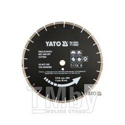 Круг алмазный 350x25,4мм (сегмент черный) Yato YT-5992
