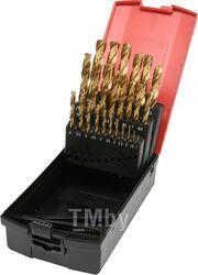 Сверло по металлу 1-13мм HSS-TiN (набор 25пр.) Yato YT-44676